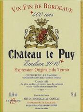 Chateau Le Puy
