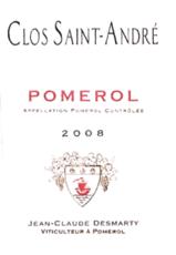 Clos Saint-André Pomerol 2016