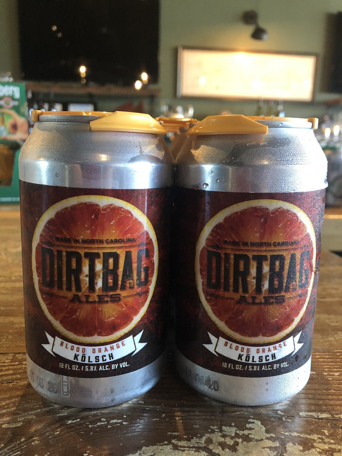 Dirtbag Ales Blood Orange Kolsch