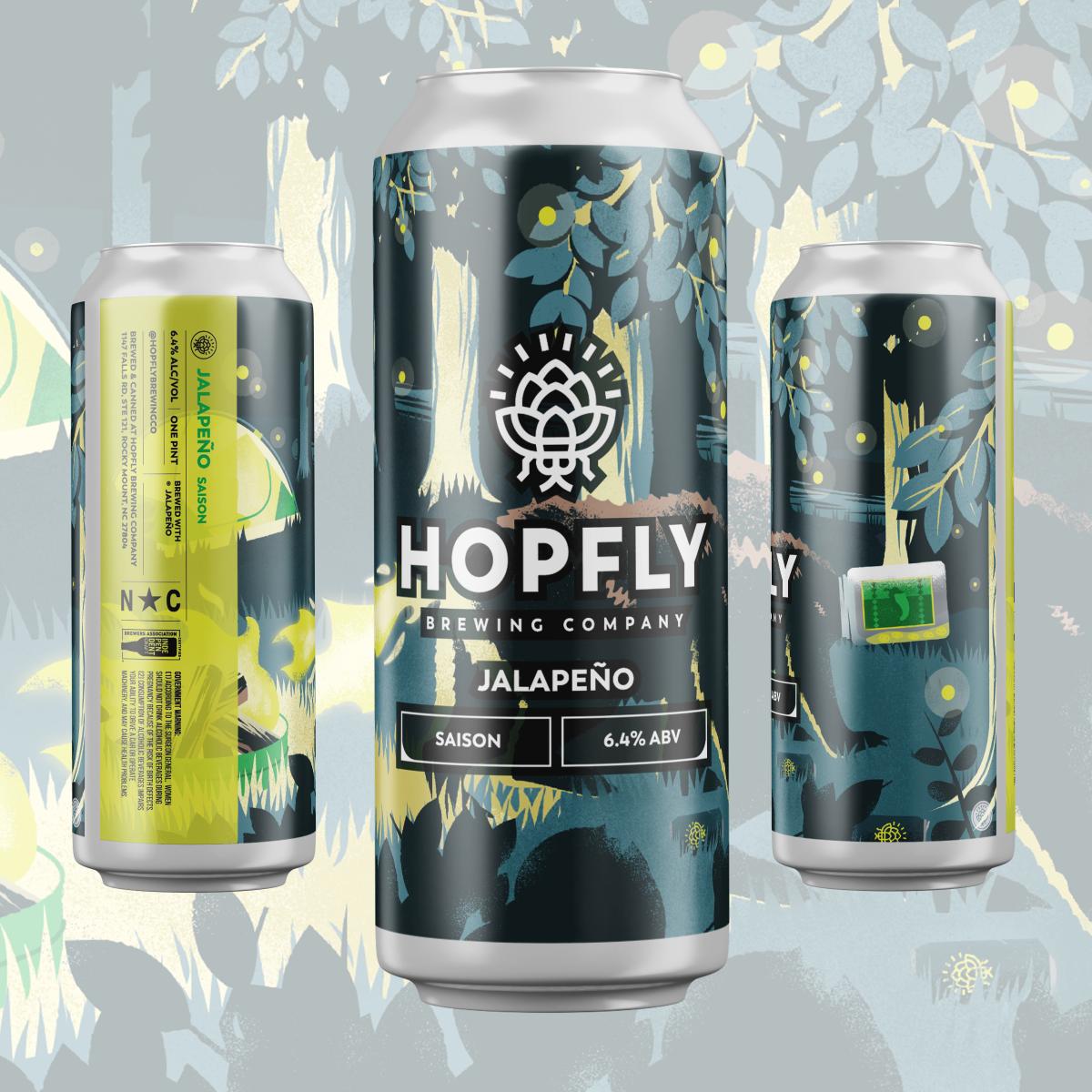 Hopfly Jalepeno Saison