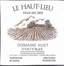 Domaine Huet Vouvray Demi-Sec