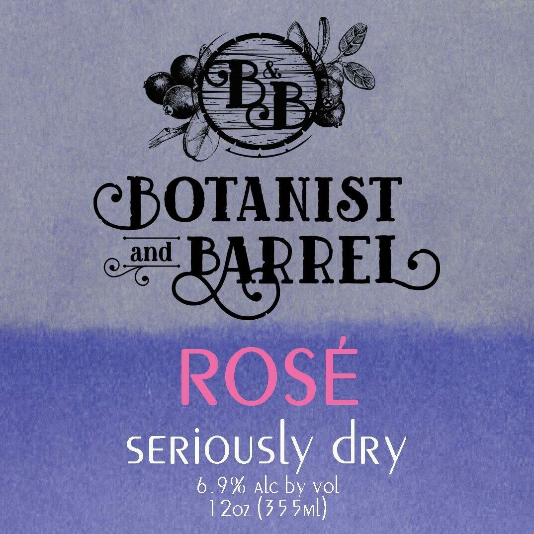 Botanist and Barrel Seriously Dry Cider