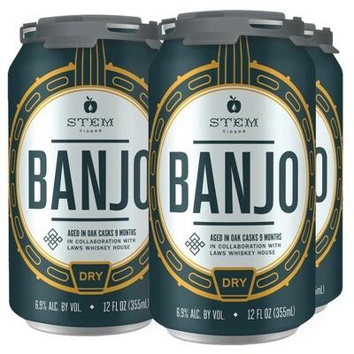 Stem Banjo Bourbon Barrel Aged Cider
