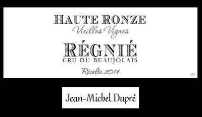 Dupre Regnie Haut Ronze 2018
