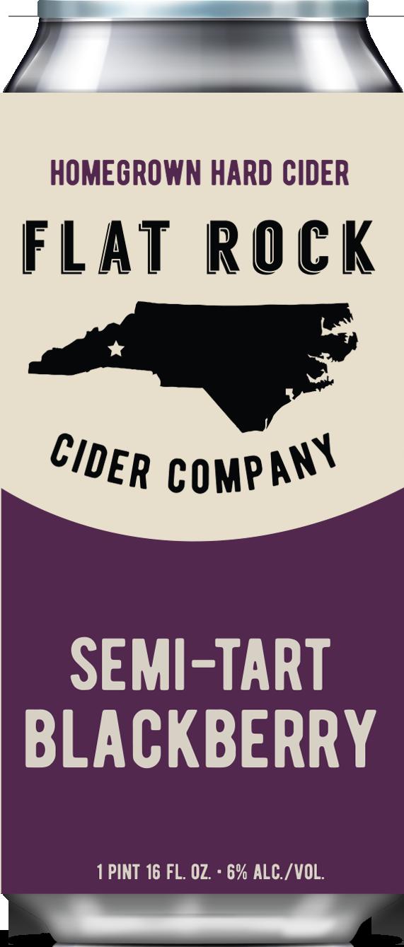 Flat Rock Blackberry Cider