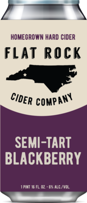 Flat Rock Blackberry Cider
