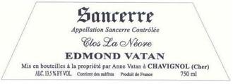 Edmond Vatan Sancerre Clos la Neore 2014