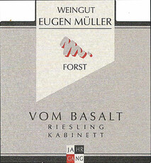 Eugen Müller Forster Mariengarten Riesling Kabinett 2018