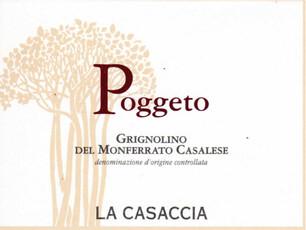 La Casaccia Poggeto Grignolino del Monferrato 2018