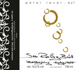 Peter Lauer Riesling Sekt Reserve Sparkling 1987