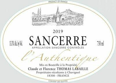 Thomas LaBaille L' Authentique Sancerre Rose' 2019