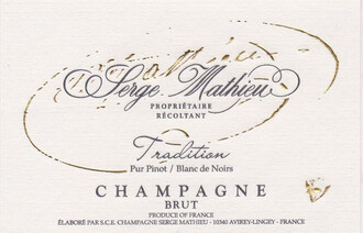 Serge Mathieu Blanc de Noirs Pur Pinot NV