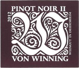 Von Winning Pinot Noir II 2015