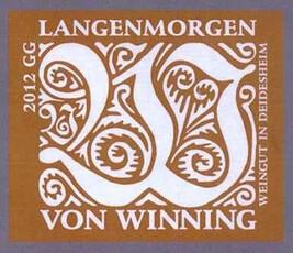 Von Winning Langenmorgen Riesling Grosses Gewächs 2018