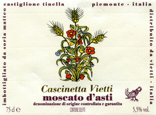 Vietti Moscato Cascinetta 375mL