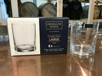 Larus Whisky Crystal 6 Pack