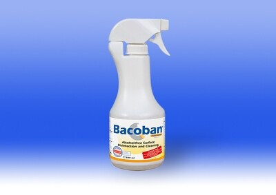 Bacoban Anti-microbial Spray 500ml - (Case 12x500ml)