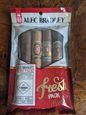 Alec Bradley Mixed Toro 4 Pack