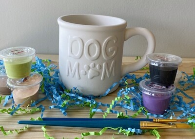 Take Home Dog Mom Mug with Glazes - Pick up at Pet Depot