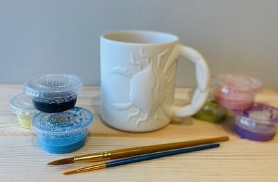 Take Home Maryland Crab Mug with Glazes - Pick up at Pet Depot
