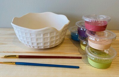 Take Home Ice Cream Waffle Bowl with Glazes - Pick up at Pet Depot