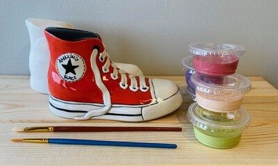 Take Home Converse Sneaker Bank with Glazes - Pick up at Pet Depot