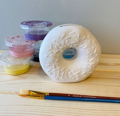 Take Home Donut Bank with Glazes - Pick up at Pet Depot