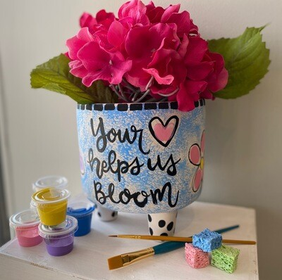 Take Home Flower Planter for Mom Kit - Pick up at Pet Depot