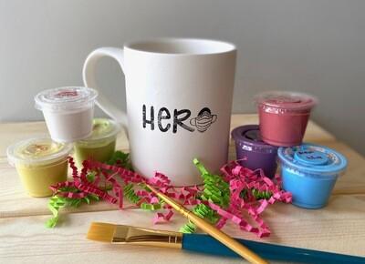 Take Home Coloring Book 12 oz Hero Nurse / Doctor Mug with Glazes - Pick up at Pet Depot