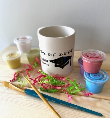 Take Home Coloring Book 10 oz Class of 2020 Friends Mug with Glazes - Pick up at Pet Depot