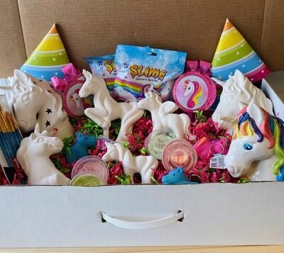 Take Home Unicorn Birthday Party Kit - Pick up at Pet Depot
