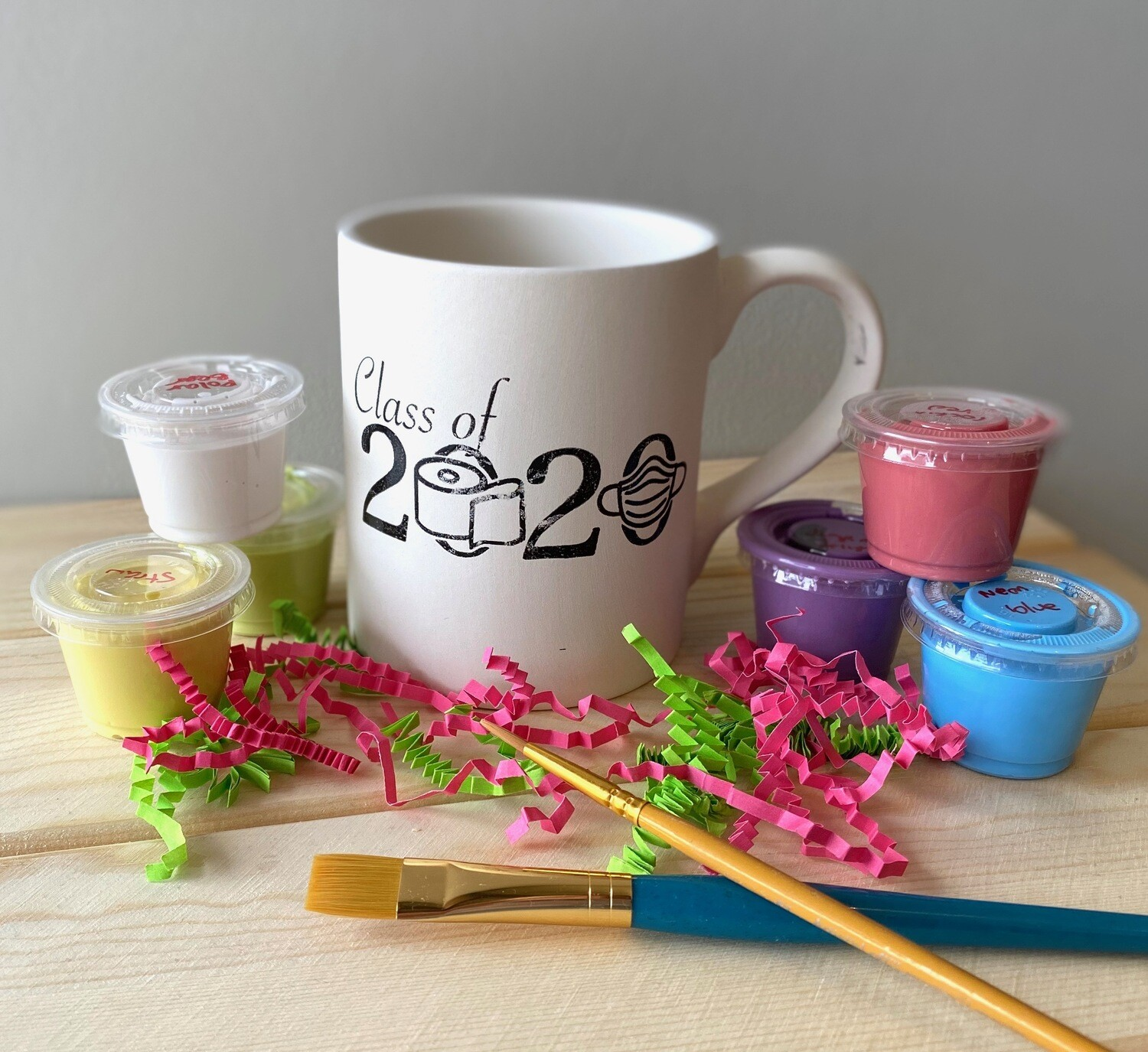 Take Home Coloring Book 12 oz Class of 2020 Mug with Glazes - Pick up at Pet Depot