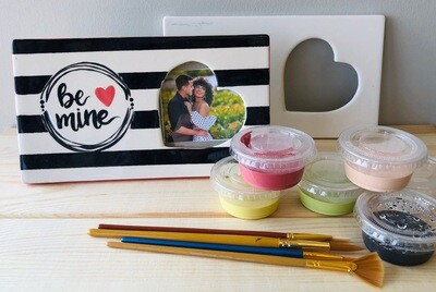 Take Home Rectangle Heart Message Frame - Pick up at Pet Depot