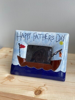 Father's Day Boat Frame - Sample Sale