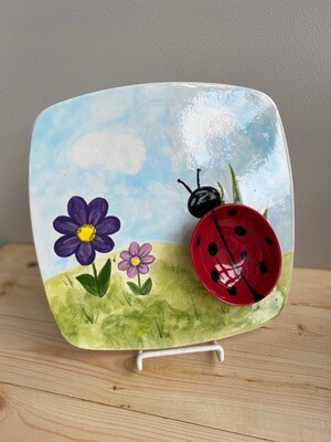 Ladybug Chip & Dip - Sample Sale