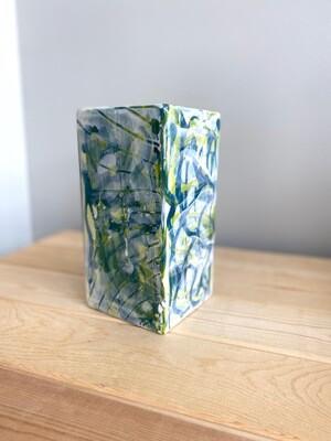 Seashell Watercolor Vase - Sample Sale
