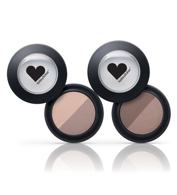 Kelley Baker Brows Brow Powder Duo (BROWN/DARK BROWN)