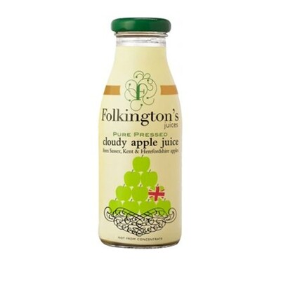 Folkingtons - Cloudy Apple Juice. 250ml