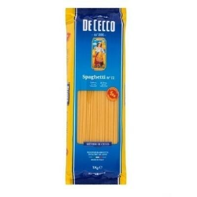 Pasta - De Cecco Spaghetti (No.12), 1kg