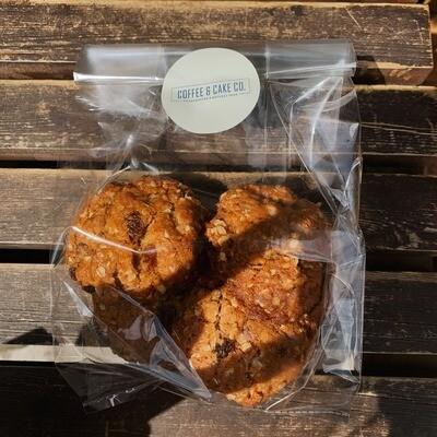 Honey Oatmeal Raisin Cookies, x4