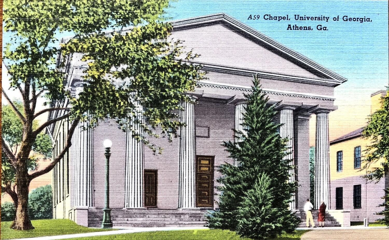 Chapel University of Georgia Athens GA