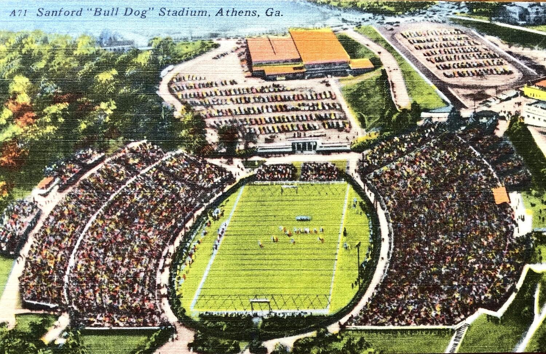Sanford Bull Dog Stadium Athens GA University of GA
