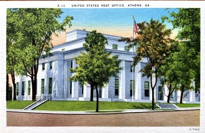 United States Post Office Athens Georgia