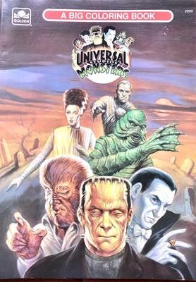 Universal Studios Monsters: A Big Coloring Book