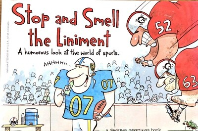 Stop and Smell the Liniment: A Humorous look at the World of Sports