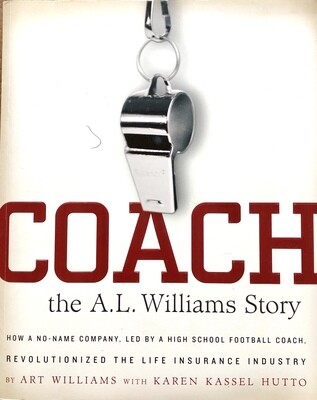 Coach: The A.L. Williams Story by Art Williams