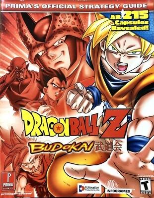 Dragonball Z: Prima's Official Strategy Guide Budokai