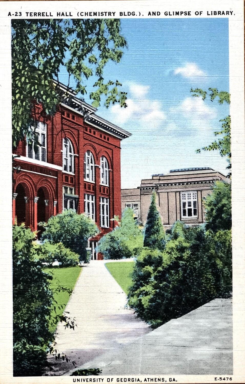 Terrell Hall Chemistry Bldg University of GA Athens