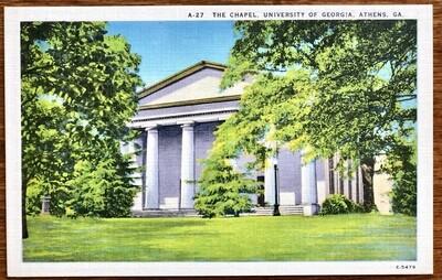 The Chapel University of Georgia Athens GA E-5479