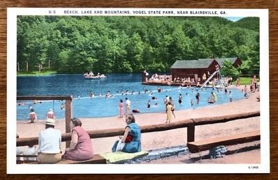 Vogel State Park Blairsville GA Beach Lake Mountains
